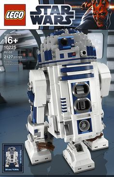 LEGO has just officially unveiled the newest addition to their Ultimate Collector Series of LEGO Star Wars models, the opinionated astromech droid we all know and love, 10225 R2-D2. Artoo ships in May 2012 for 180 USD and includes 2,127 parts. #lego