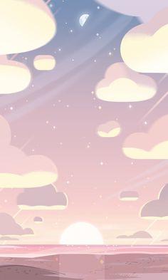 steven universe pink clouds - Buscar con Google