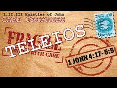 "1 John 4:17 - 5:5   ""Teleios"", Verse by verse Bible teaching by Pastor Glen Mustian from Calvary Chapel True North in Colorado Springs Colorado. 11/29/2015."