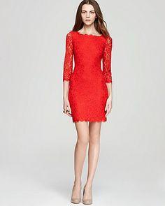 DIANE von FURSTENBERG Lace Dress - Zarita | Bloomingdale's
