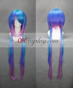 Vocaloid Lapis Blue&Purple Cosplay Wig