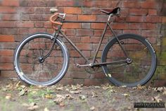 FULFORD — The Rat look Raleigh Rudge, done to my specs....