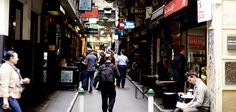 MELBOURNE - Laneways & arcades- Al fresco eateries, one-off shops and cosy litte bars all nestle side-by-side in laneways threading throughout the city. Each arcade has its own individual character and charm. Melbourne Laneways, City Grid, Arcade, Pictures, Threading, Fresco, Cosy, Sydney, Life Hacks
