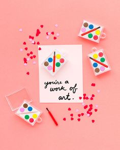 6 adorable Valentines cards to make with your kids https://petitandsmall.com/6-adorable-valentines-cards-make-kids/