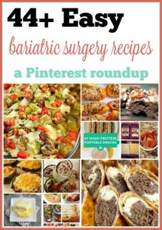 ...find something you'll really enjoy, while maintaining your requirements, and easy to make...I decided...a comprehensive...of bariatric surgery recipes...
