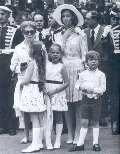 Da. Sofía y sus hijos