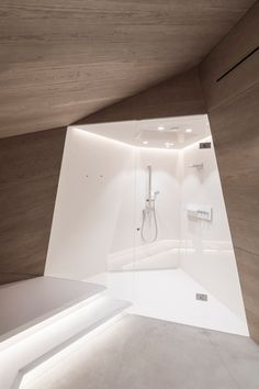 Apartment renovation goes for futuristic with sculptural concrete - Curbedclockmenumore-arrow : Whoa