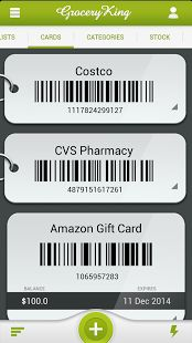 Grocery King Shopping List- screenshot thumbnail