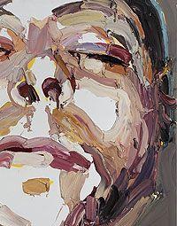 Ben Quilty 'Self Portriat Dead' 2007 Art Faces, Face Art, Abstract Portrait, Abstract Art, Australian Artists, Art Activities, Contemporary Artists, Painting Inspiration, Painters