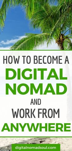 Do you want to learn how to become a digital nomad? This extensive guide will teach you step by step how to travel the world permanently, all while making money online. Become location-independent and live an unconventional life on your own terms! Make Money Online, How To Make Money, How To Become, Travel Careers, Travel Jobs, Work Travel, Online Work, Making Ideas, Knife Making