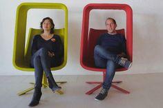 Actualité / Mike & Maaike et leur Windowseat  / étapes: design & culture visuelle
