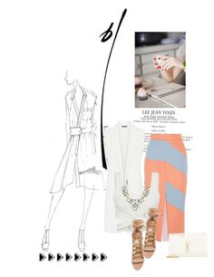 """""""Untitled #1340"""" by lindagama on Polyvore featuring Mercedes-Benz, Roksanda, Aquazzura, Yves Saint Laurent, StreetStyle and chic"""