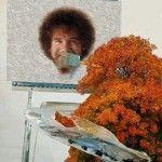 Let's paint a happy little Bob.    GuyManningham.com