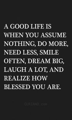 22 Blessed Life Quotes – Funniest memes and humor pics Lifestyle estimates is extremely inspiring Blessed Life Quotes, Life Quotes Love, Great Quotes, Quotes To Live By, Me Quotes, Motivational Quotes, Life Is Simple Quotes, Inspiring Quotes, Wisdom Quotes