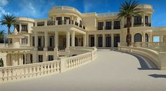 "This Is the Most Expensive Listing in America $139 Million - ""Le Palais Royal"" is inspired by the Palace of Versailles and is located in Hillsboro Beach, Florida."