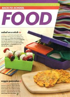 Bento Lunchboxes--365 lunch ideas, safe material made in the USA--other types of packs available  also