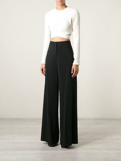 Stella Mccartney Wide Leg Trousers - Dell'oglio - Farfetch.com