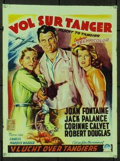Flight To Tangier (1953) Original Movie Poster