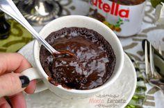 Bolo de Caneca de Nutella