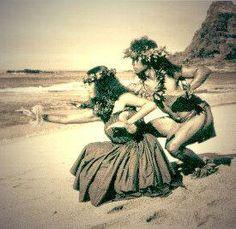 The hula...