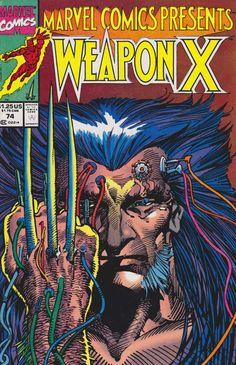Marvel Comics Presents #74 - Weapon X Part 3