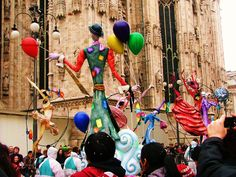 Carnival. Milan. Italy