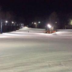 #Snowboarding last night at Mount Southington. Very icy but still fun! @yukumizu