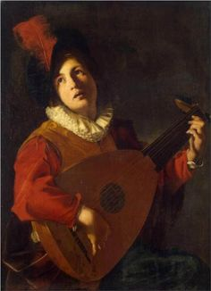Lute Player - Nicolas Tournier