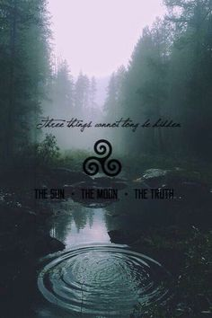 The sun, the moon, the truth
