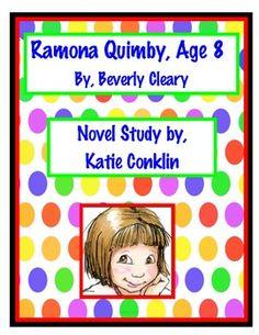 ramona quimby age 8 writing activities
