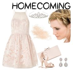 """""""Homecoming"""" by jenncordova ❤ liked on Polyvore featuring Accessorize, Ted Baker, Eve Lom and Lipsy"""