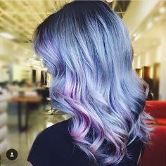 periwinkle curls