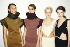 JW Anderson fall 2014 - behind the scenes