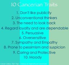 Cancer Zodiac Traits