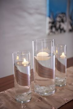 Table Centerpieces, Different Colors, Candle Holders, Vase, Candles, Texture, Table Centers, Candlesticks, Centerpieces