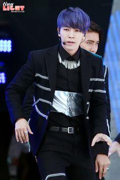 Lee Donghae - Super Junior - Suju - Hair Blue