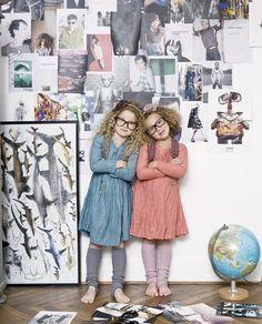 Artsy kids - future fashion editors
