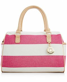 Tommy Hilfiger Mother's Day Rugby Striped Satchel - Tommy Hilfiger - Handbags  Accessories - Macy's