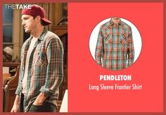 Pendleton Long Sleeve Frontier Shirt inspired by Colt Bennett in The Ranch | TheTake