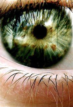 Green Eyes Striking Colour !