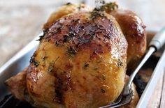 Honey and lemon thyme roast chicken - News - Bubblews