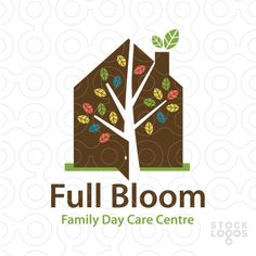 Full Bloom Day Care | StockLogos.com