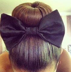 bow bun www.theworlddances.com/ #bunhead #dance