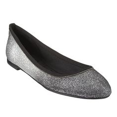 "Aldenia, By Nine West. Boutique 9 round toe flat with 1/4"" heel."