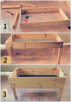 Raised Garden Table Plans | Download Raised Garden Bed Plans On Legs PDF rockler coffee table ... #RaisedBeds