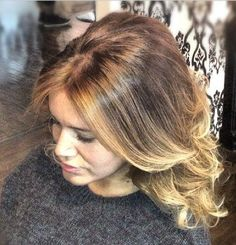 balayage highlights honey blonde - Google Search