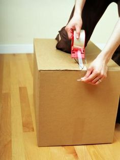 How to Cut Down a Cardboard Box to Fit Your Item You may not always have the size of box you need on hand, especially if you want to use the box for an irregular-shaped object. If the box is too large, the item will bounce around during shipping, which could cause it to break. Or you might not want to have to use excessive packing material and prefer a box that fits your item well. You can resize the cardboard box yourself, which will allow for a better fit.