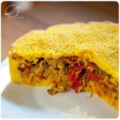 POLENTA CRIOLLA VENEZOLANA. http://amantesdelacocina.com/cocina/2015/08/polenta-criolla-venezolana/