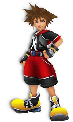 Sora in Kingdom Hearts Dream Drop Distance. Sora Kingdom Hearts 3, Kingdom Hearts Characters, Chain Of Memories, Cesare Borgia, Describing Characters, Fictional Characters, Kindom Hearts, Just Video, Tv Tropes