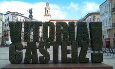 Vitoria-Gasteiz where the green is capital